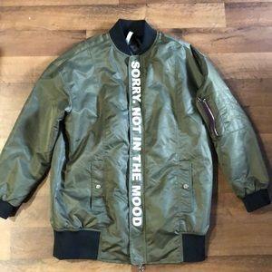 Zara Jackets & Coats - Zara Man Women's Coat Size S Green Full Zip